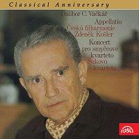 Přední strana obalu CD Classical Anniversary Dalibor C. Vačkář Appellatio, Koncert pro smyčcové kvarteto