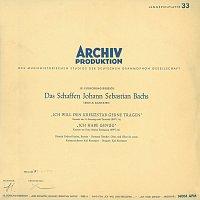 """Dietrich Fischer-Dieskau, Karl Ristenpart Chamber Orchestra, Karl Ristenpart – Bach, J.S.: Cantatas """"Ich will den Kreuzstab gerne tragen"""", BWV 56; """"Ich habe genug"""", BWV 82"""