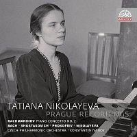 Přední strana obalu CD Pražské nahrávky 1951-1954. Russian Masters