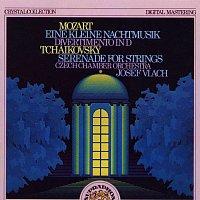 Český komorní orchestr/Josef Vlach – Mozart: Malá noční hudba, Divertimento pro smyčce D dur; Čajkovskij: Serenáda pro smyčcový orchestr C Dur
