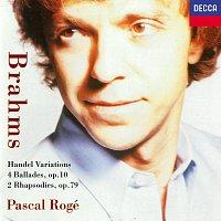 Pascal Rogé – Brahms: 4 Ballades; 2 Rhapsodies; Variations & Fugue on a Theme by Handel