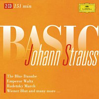 Berliner Philharmoniker, Herbert von Karajan, Wiener Philharmoniker, Karl Bohm – Basic Johann Strauss [2 CDs]