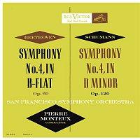 Pierre Monteux – Beethoven: Symphony No. 4 in B-Flat Major, Op. 60 - Schumann: Symphony No. 4 in D Minor, Op. 120