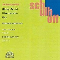 Přední strana obalu CD Schulhoff: Divertimento, Sextet, Duo / Komorní dílo Vol. 2