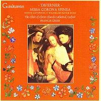 Přední strana obalu CD Taverner: Missa Corona Spinea; Votive Antiphon: O Wilhelme Pastor Bone