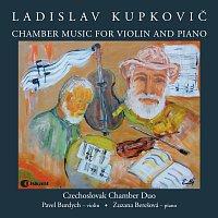 Přední strana obalu CD Ladislav Kupkovič: Chamber Music for Violin and Piano