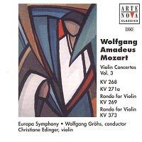 Christiane Edinger, Europa Symphony, Wolfgang Grohs – Mozart: Violin Concertos Vol. 3