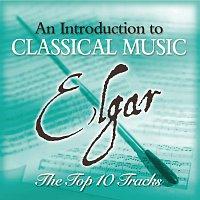Přední strana obalu CD Elgar - The Top 10