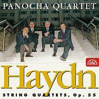 Přední strana obalu CD Haydn: Smyčcové kvartety, op. 55 č. 1 - 3