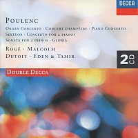 Pascal Rogé, George Malcolm, Philharmonia Orchestra, Charles Dutoit – Poulenc: Piano Concerto/Organ Concerto/Gloria etc. [2 CDs]