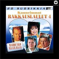 Various Artists.. – 20 Suosikkia / Kauneimmat rakkauslaulut / Mahdunko maailmaas