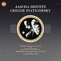 Gregor Piatigorsky, Johannes Brahms, Jascha Heifetz, Israel Baker, Paul Rosenthal, Milton Thomas – Brahms: String Quintet No. 2 in G Major, Op. 111 & Beethoven: Piano Trio No. 2 in E-Flat Major, Op. 70 (Remastered)