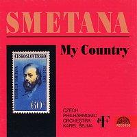 Přední strana obalu CD Smetana: Má vlast. Cyklus symfonických básní
