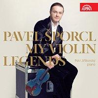 Přední strana obalu CD My Violin Legends