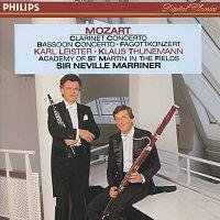 Karl Leister, Klaus Thunemann, Stephen Orton, Academy of St. Martin in the Fields – Mozart: Clarinet & Bassoon Concertos