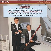 Karl Leister, Klaus Thunemann, Stephen Orton, Academy of St. Martin in the Fields – Mozart: Clarinet & Bassoon Concertos