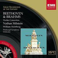 Nathan Milstein, Wilhelm Hans Steinberg, Pittsburgh Symphony Orchestra – Beethoven & Brahms:Violin Concertos