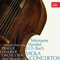 Lubomír Malý, Pražský komorní orchestr, Libor Hlaváček – Telemann, Händel, Bach: Koncerty pro violu a orchestr