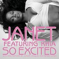 Janet Jackson, Khia – So Excited [Remix]