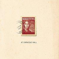 Přední strana obalu CD Kristina (At Carnegie Hall)