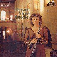 Přední strana obalu CD Telemann, Vivaldi, Marcello: Koncerty pro hoboj a flétnu