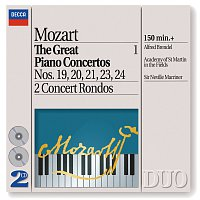Alfred Brendel, Academy of St. Martin in the Fields, Sir Neville Marriner – Mozart: The Great Piano Concertos, Vol.1 [2 CDs] – CD