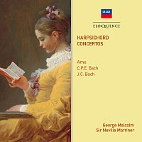 George Malcolm, Academy of St. Martin in the Fields, Sir Neville Marriner – Arne, C.P.E. Bach & J.C. Bach: Harpsichord Concertos