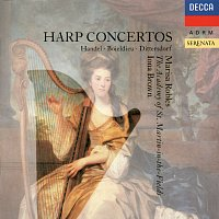 Marisa Robles, Academy of St. Martin in the Fields, Iona Brown – Harp Concertos