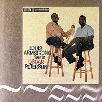 Přední strana obalu CD Louis Armstrong Meets Oscar Peterson