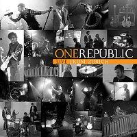 Přední strana obalu CD Live From Zurich