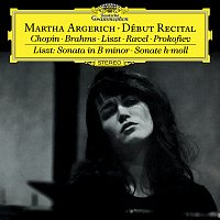 Přední strana obalu CD Martha Argerich - Debut Recital