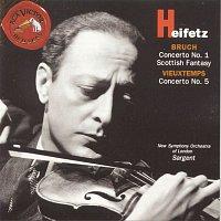 Jascha Heifetz, Henri Vieuxtemps, Sir Malcolm Sargent – Bruch/Vieuxtemps: Concertos