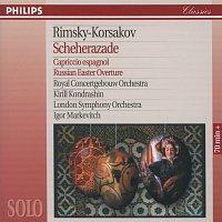 Herman Krebbers, Royal Concertgebouw Orchestra, Kirill Kondrashin, Igor Markevitch – Rimsky-Korsakov: Scheherazade; Capriccio Espagnol; Russian Easter Overture