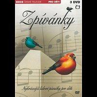 Různí interpreti – Zpívánky - Nejkrásnější lidové písničky pro děti – DVD