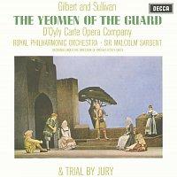 Přední strana obalu CD Gilbert & Sullivan: The Yeomen of the Guard & Trial By Jury