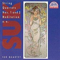 Přední strana obalu CD Suk: Smyčcové kvartety op. 11 a 31, Tempo di minuetto, Meditace