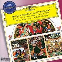 "Berliner Philharmoniker, Herbert von Karajan, Michel Schwalbé – Rimsky-Korsakov: Scheherazade / Tchaikovsky: Capriccio; Overture ""1812"""
