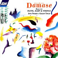 Přední strana obalu CD Damase: Music for Flute, Harp and Strings