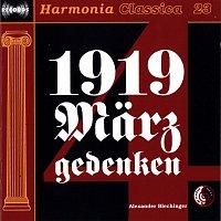 Das schone neue Musik Salonorchester und Chor unter Alexander Blechinger, Sopran – 1919 Marzgedenken - Die Sudetendeutschen - Ihr Leidensweg - wie es begann