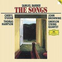 Cheryl Studer, Thomas Hampson, John Browning, Emerson String Quartet – Barber: The Songs Complete