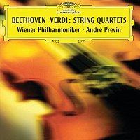 Přední strana obalu CD Beethoven/Verdi: String Quartets