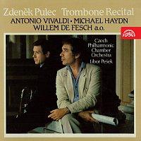 Přední strana obalu CD Recitál pro trombón /Vivaldi, Haydn, Fesch,...