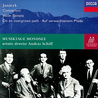 András Schiff – Janácek: Concertino; On An Overgrown Path; Violin Sonata