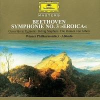 """Wiener Philharmoniker, Claudio Abbado – Beethoven: Symphony No.3 In E Flat Major, Op. 55 """"Eroica""""; """"Egmont"""" Overture, Op. 84; """"King Stephen"""" Overture, Op. 117; """"The Ruins Of Athens"""" Overture, Op. 113"""