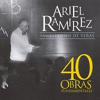 Přední strana obalu CD Santafesino De Veras [40 Obras Fundamentales]