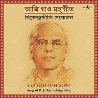 Přední strana obalu CD Aaji Gao Mahageet  ( Songs Of D. L. Roy )