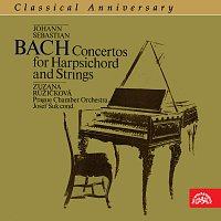Přední strana obalu CD Classical Anniversary Johann Sebastian Bach / Koncerty pro cembalo a smyčcový orchestr