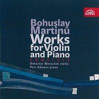 Bohuslav Matoušek, Petr Adamec – Martinů: Skladby pro housle a klavír I a II