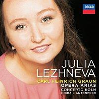 Julia Lezhneva, Concerto Koln, Mikhail Antonenko – Graun: Opera  Arias