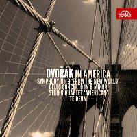 """Různí interpreti – Dvořák v Americe (Symfonie č.9 """"Z Nového světa"""", Violoncellový koncert h moll, Smyčcový kvartet """"Americký"""", Te Deum)"""